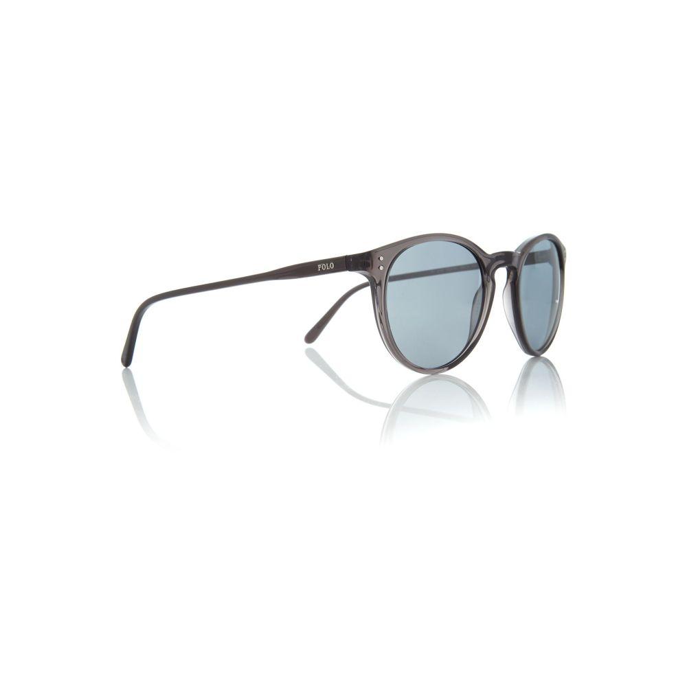 ラルフ ローレン メンズ メガネ・サングラス【Black Ph4110 Round Sunglasses】frame colour: black
