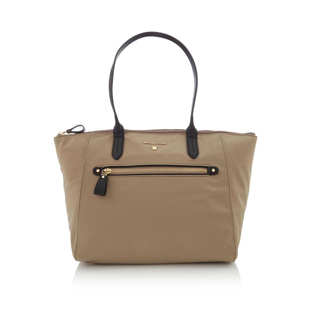 マイケル コース レディース バッグ トートバッグ【Nylon Kelsey Medium Top Zip Tote Bag】dark brown