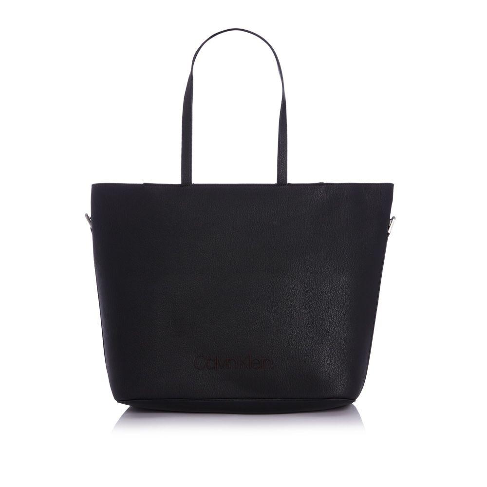 カルバンクライン レディース バッグ トートバッグ【Pop Touch Large Shopper Tote Bag】black