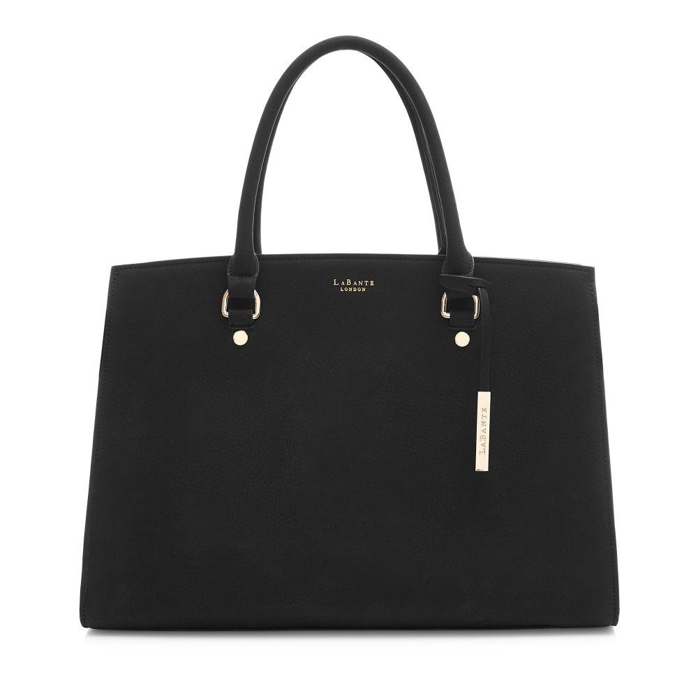ラヴァンテ レディース バッグ パソコンバッグ【Aricia Vegan Carryall Laptop Bag】black