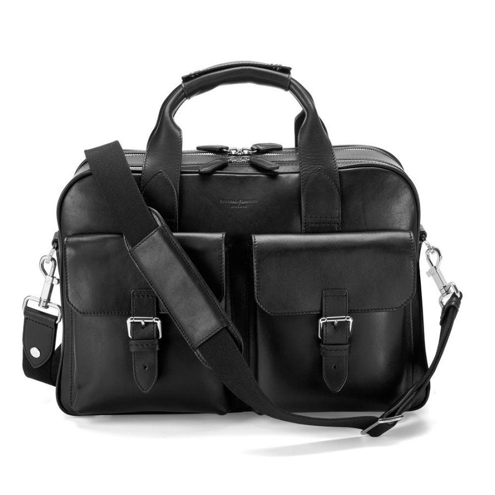 アスピナル ロンドン オブ ロンドン レディース バッグ ハンドバッグ アスピナル【Harrison バッグ Overnight Business Bag】black, STANZA DOLCE-毛皮&バッグ-:de864c08 --- sunward.msk.ru