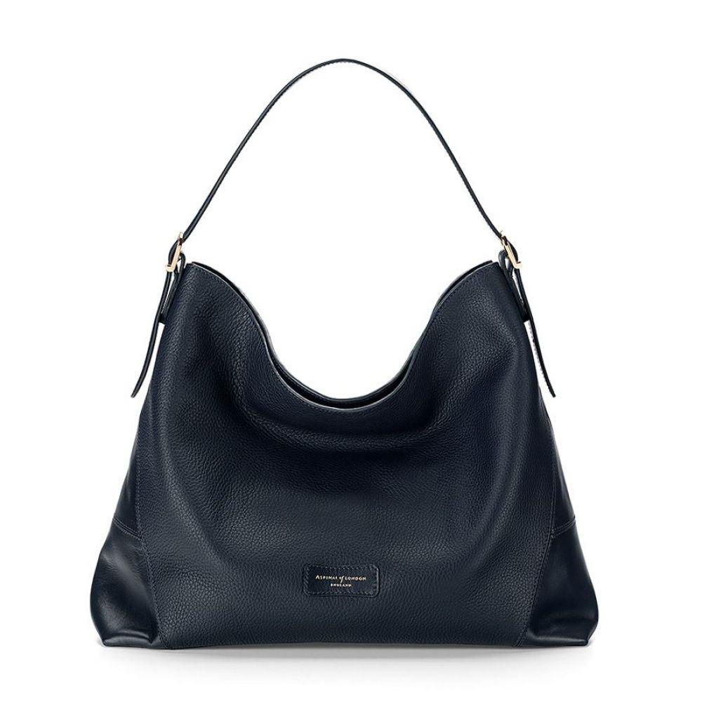 アスピナル オブ ロンドン レディース バッグ ショルダーバッグ【`a` Hobo Bag】blue