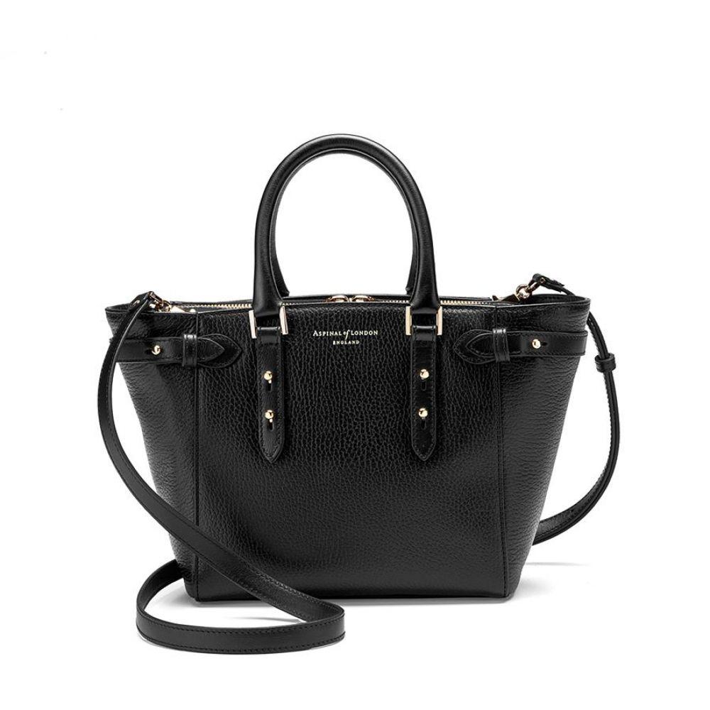 アスピナル オブ ロンドン レディース バッグ トートバッグ【Marylebone Mini Bag】black