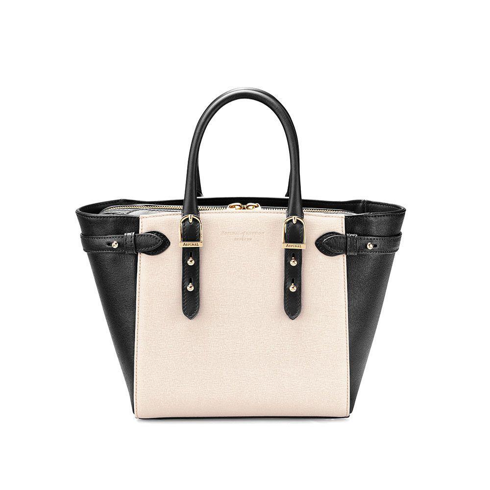 アスピナル オブ ロンドン レディース バッグ トートバッグ【Marylebone Mini Bag】monochrome