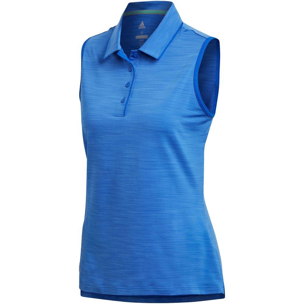 【超特価sale開催】 アディダス レディース ゴルフ トップス【Ultimate365 Sleeveless Sleeveless Polo ゴルフ アディダス】blue, ステッカーショップ クレセント:0a2aaf27 --- blablagames.net