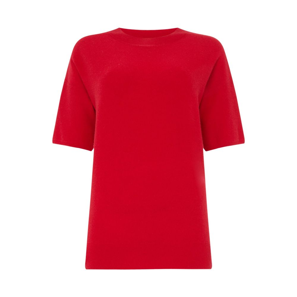 マレーラ レディース トップス ニット・セーター【Short Sleeve Jumper】red
