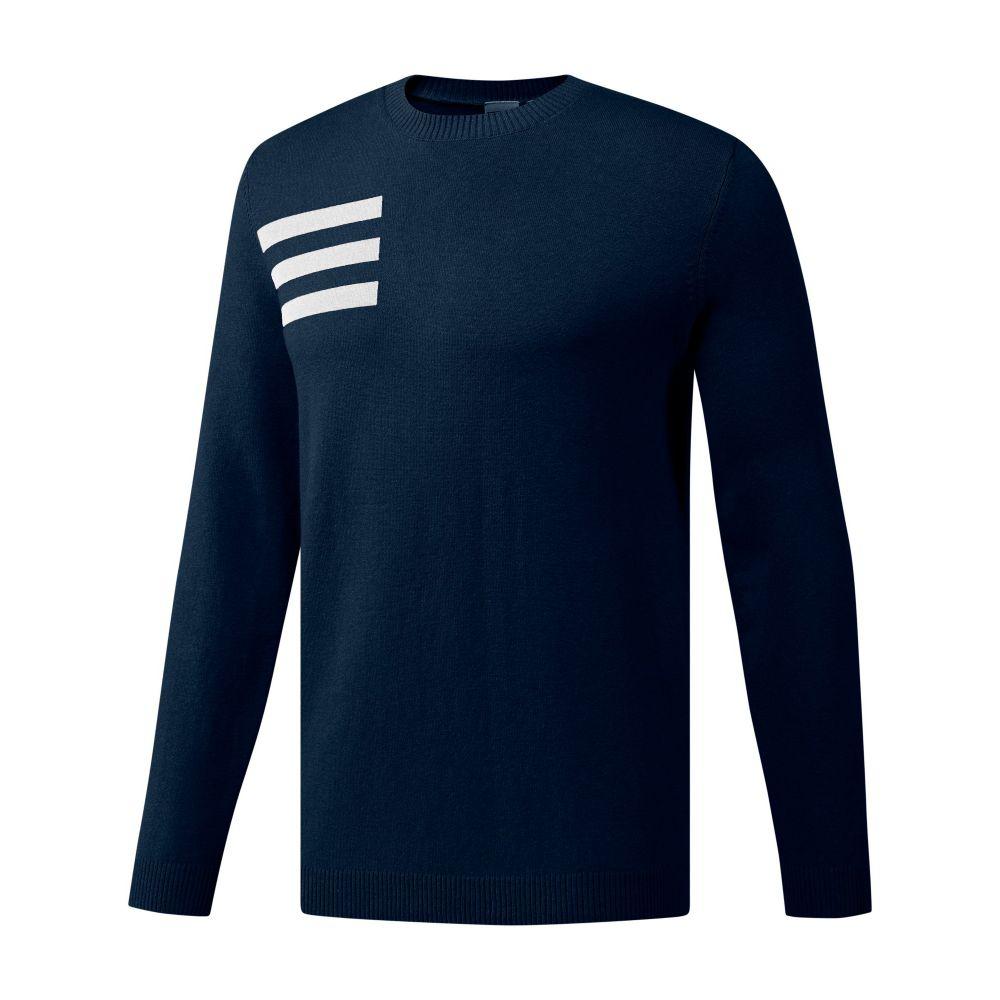 アディダス メンズ トップス ニット・セーター【Blend Crew Sweater】navy