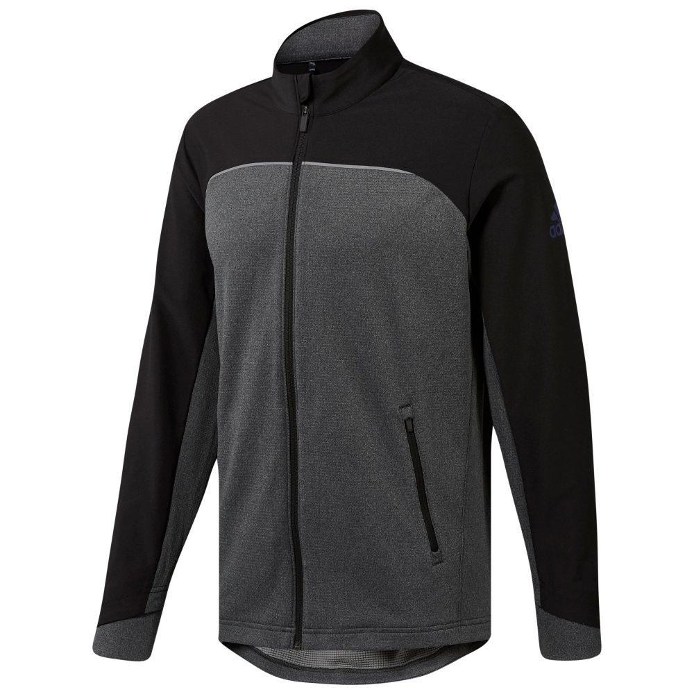 アディダス メンズ トップス ニット・セーター【Go-to Full Zip Jacket】black & grey