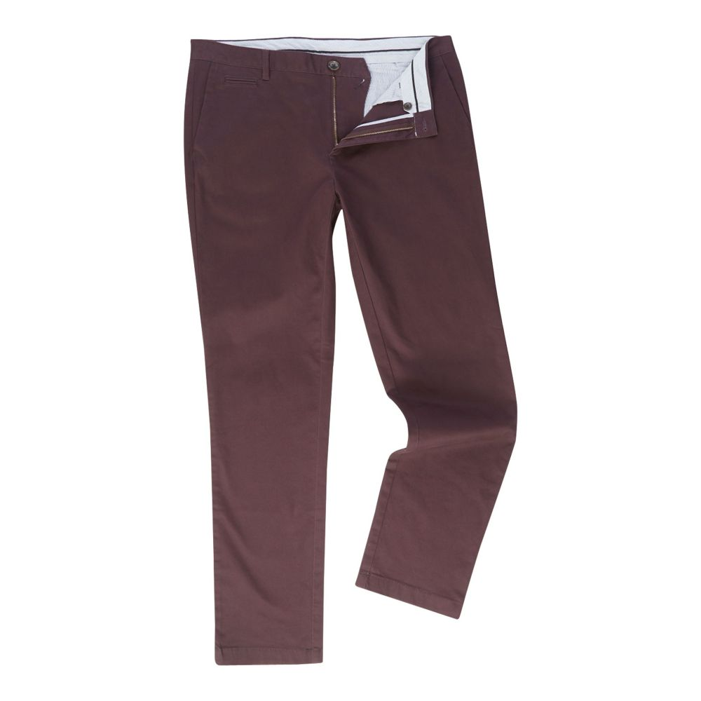 リネアペレ メンズ ボトムス・パンツ チノパン【Chelsea Regular Fit Chino Trousers】burgundy