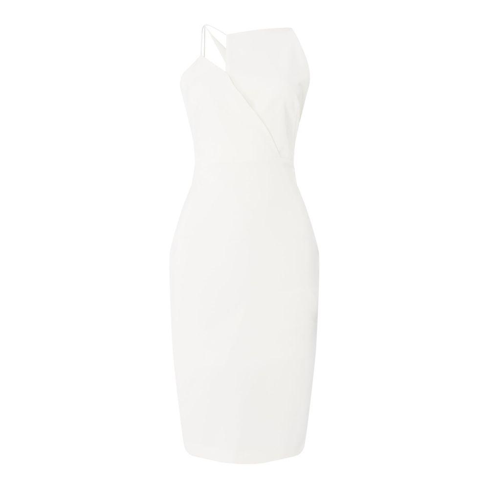 アウトライン レディース ワンピース・ドレス パーティードレス【Gown With Drape Back】ivory
