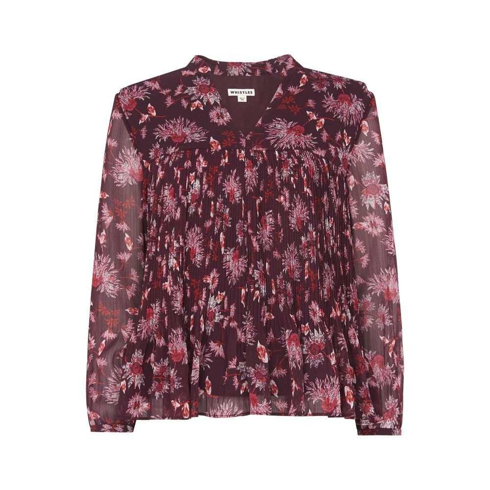 ホイッスルズ レディース トップス ブラウス・シャツ【Pitti Print Blouse】pink