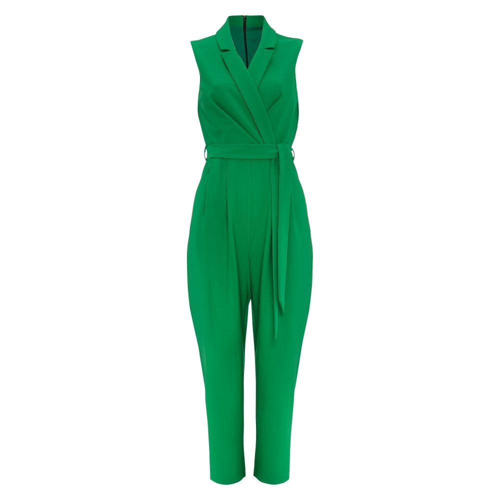 フェーズ エイト レディース ワンピース・ドレス オールインワン【Felicia Wrap Jumpsuit】jade