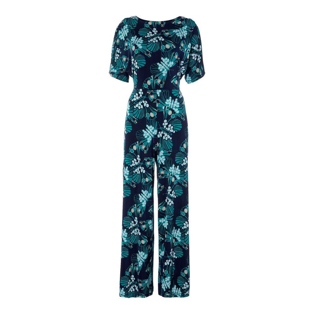 イッサ レディース ワンピース・ドレス オールインワン【Butterfly Print Jumpsuit】multi-coloured