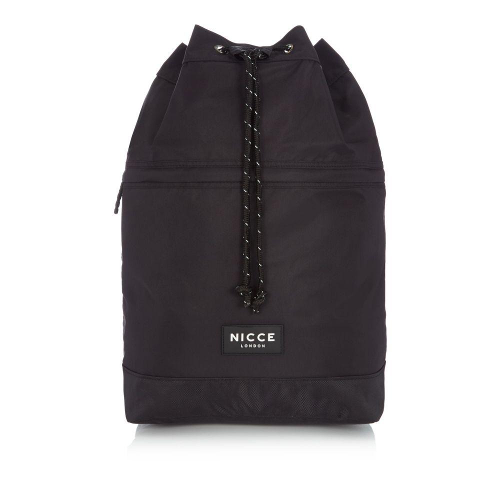 最も信頼できる ニッチェ ロンドン ロンドン Bag】black メンズ バッグ ボストンバッグ・ダッフルバッグ Tone【Nylon Two Tone Duffle Bag】black, 革財布長財布HIRAMEKI.ヒラメキ:c9c40236 --- ifinanse.biz
