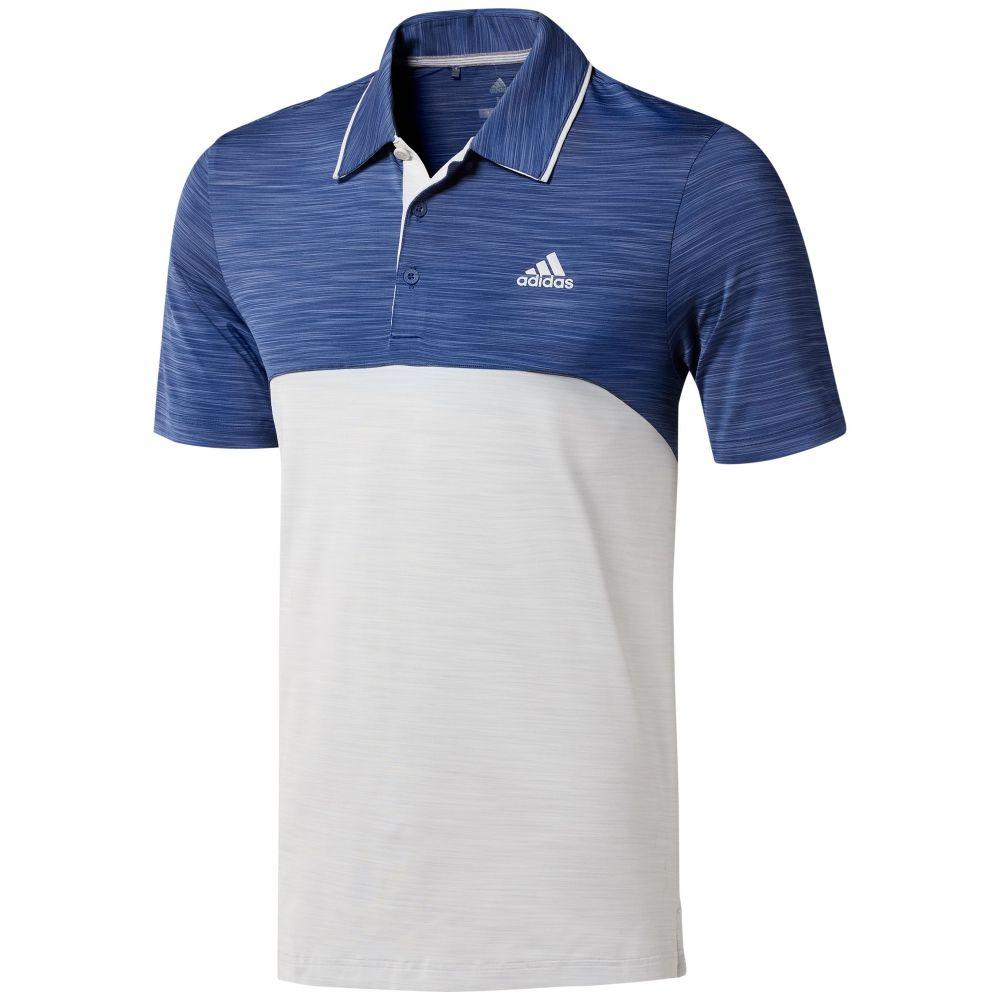 アディダス Adidas メンズ トップス ポロシャツ【Ultimate365 Heather Polo】blue