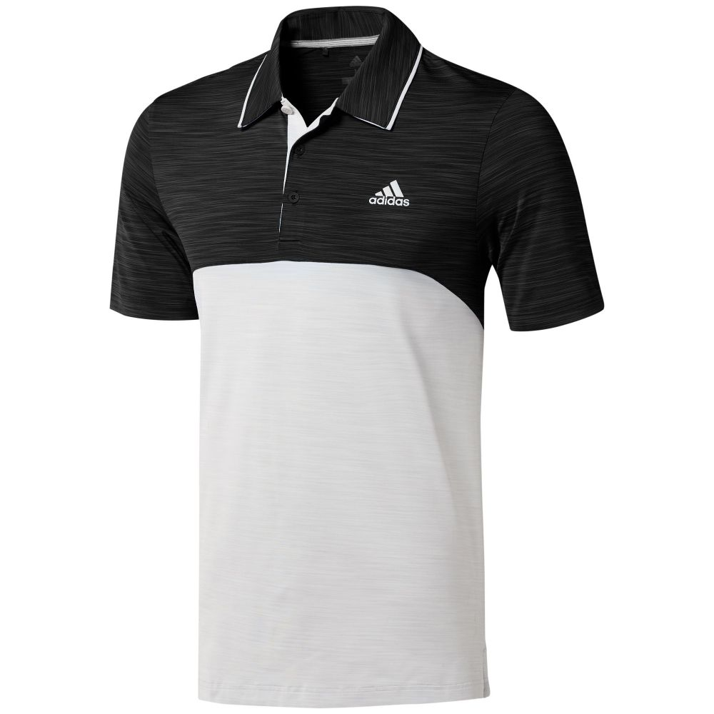 アディダス Adidas メンズ トップス ポロシャツ【Ultimate365 Heather Polo】black