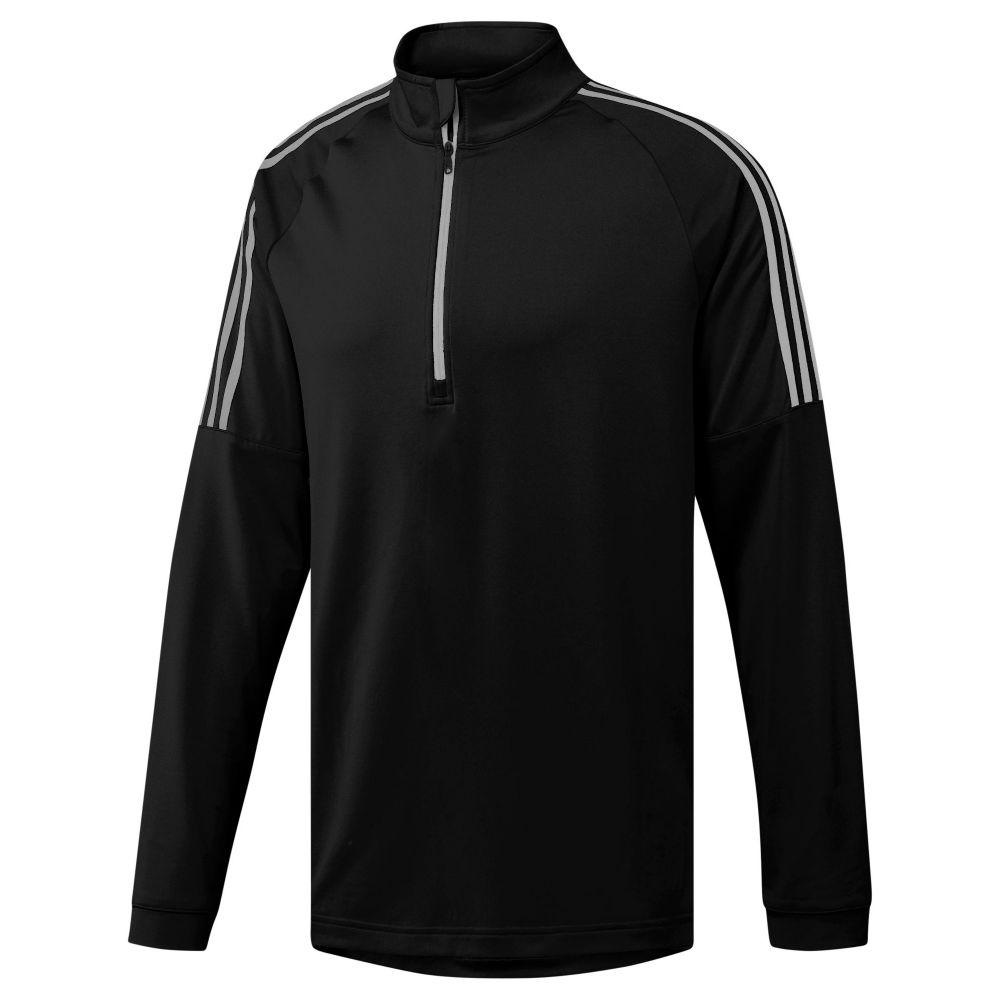 アディダス Adidas メンズ トップス【3-stripes Quarter-zip】black