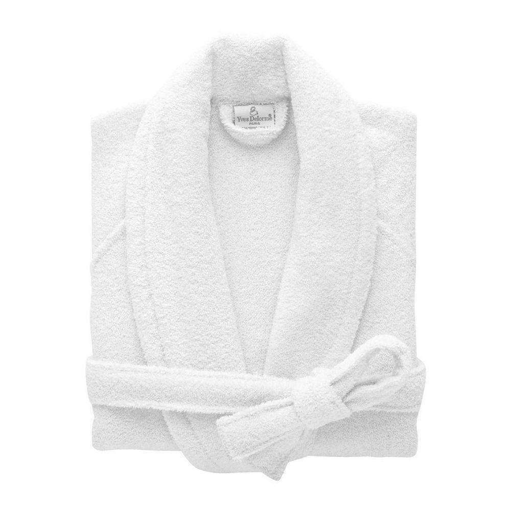 イヴ ドローム Yves Delorme レディース インナー・下着 ガウン・バスローブ【Etoile Robe】white