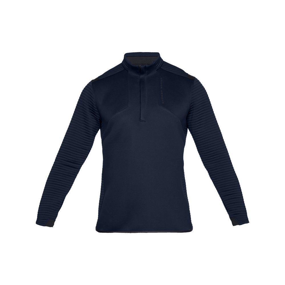 Club Room Mens Sweater Black Size XL 1/2 Zip Mock Neck Long-Sleeve トップス ファッション