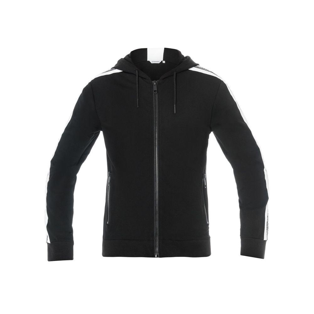 アントニー モラート Antony Morato メンズ トップス パーカー【Hooded Zip-up Sweatshirt】black