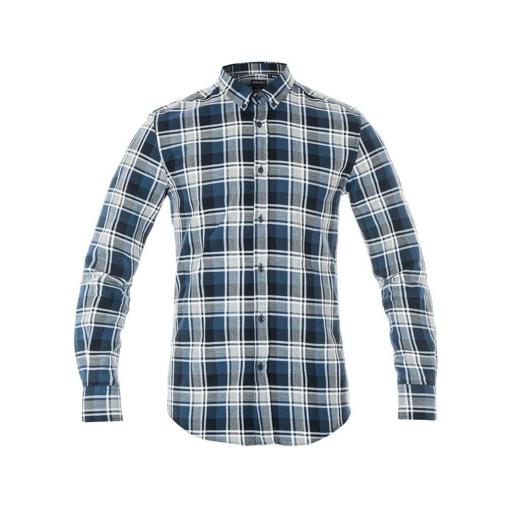 アントニー モラート Antony Morato メンズ トップス シャツ【Check Button-down Shirt】blue