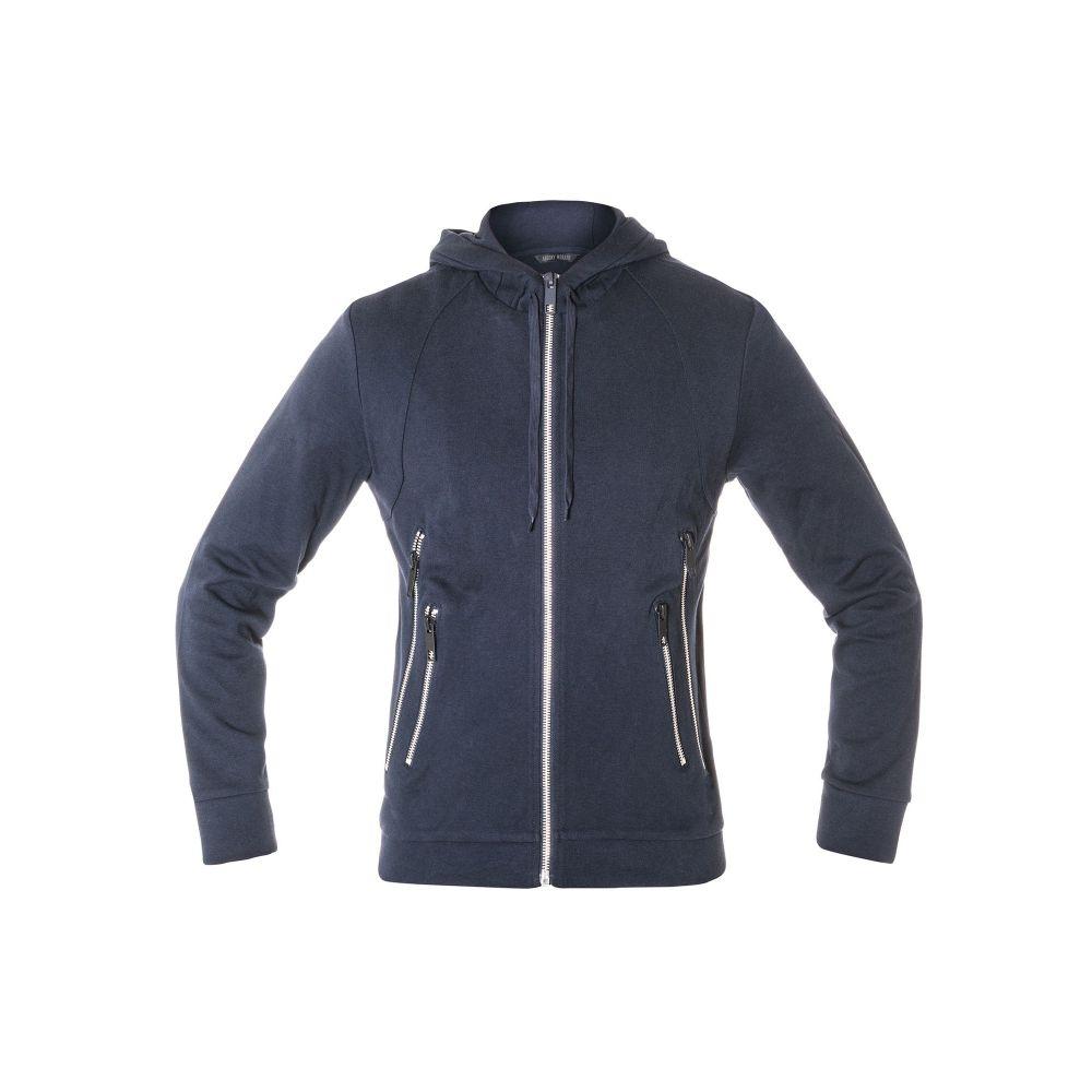 アントニー モラート Antony Morato メンズ トップス パーカー【Hooded Sweatshirt With Double Zipper Pockets】blue