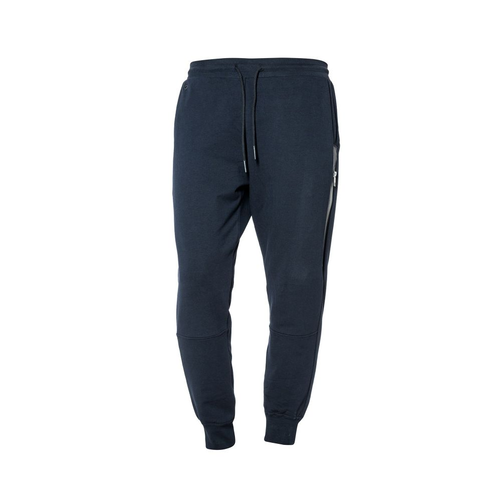 アントニー モラート Antony Morato メンズ ボトムス・パンツ スウェット・ジャージ【Pant Fleece With Front Zip And Print On】navy