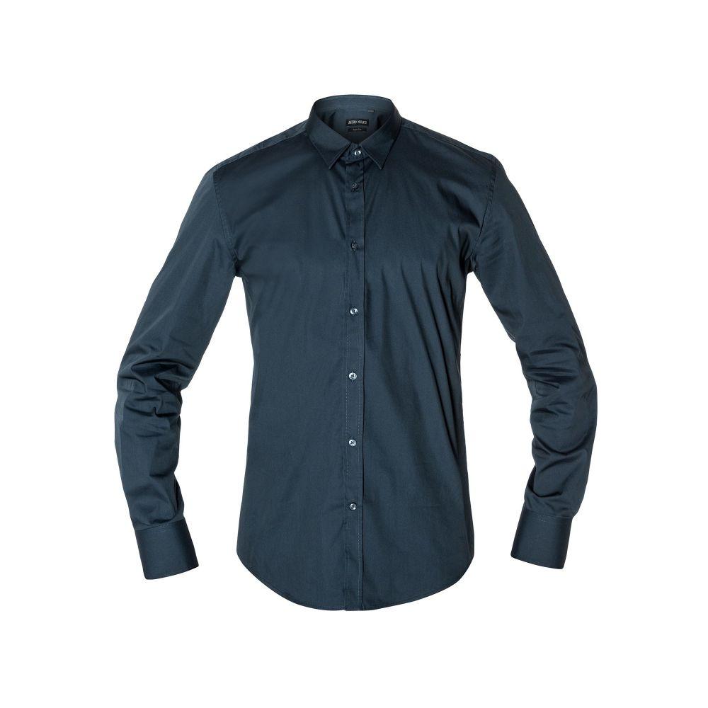 アントニー モラート Antony Morato メンズ トップス シャツ【Super Slim-fit Point Collar Shirt】blue