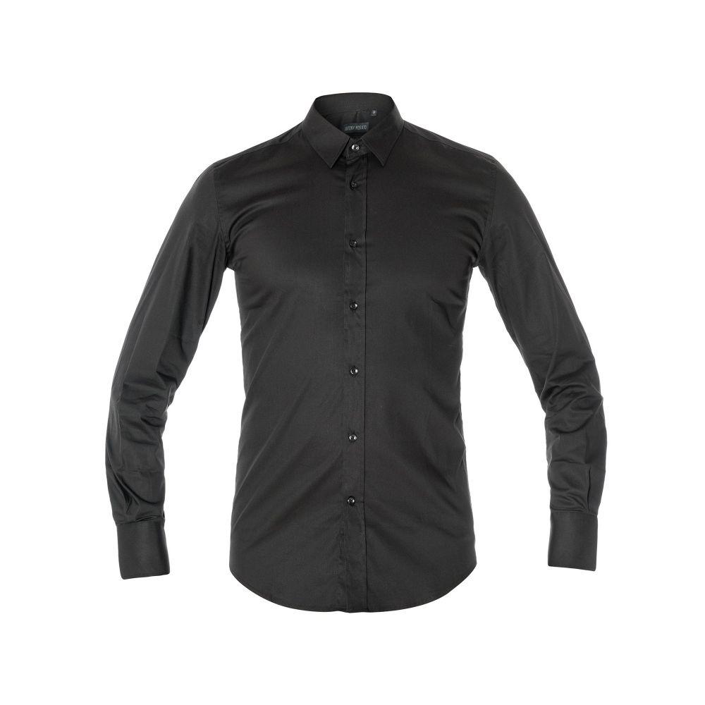 アントニー モラート Antony Morato メンズ トップス シャツ【Super Slim-fit Point Collar Shirt】black