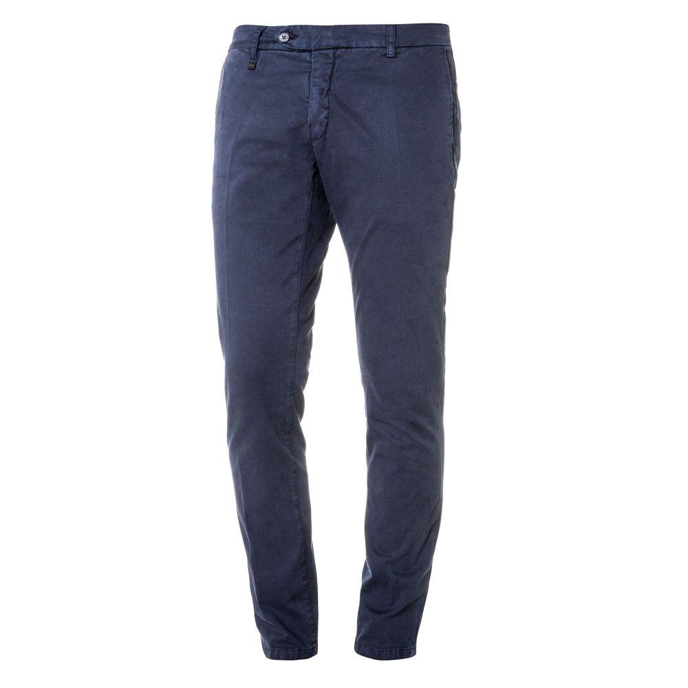 アントニー モラート Antony Morato メンズ ボトムス・パンツ チノパン【Skinny-fit Trousers In Cotton Twill】blue