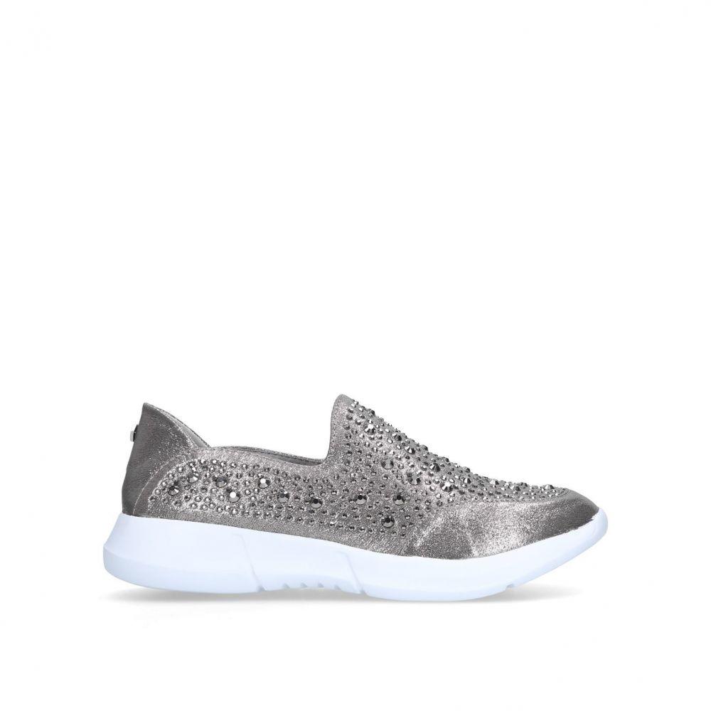 カーヴェラコンフォート Carvela Comfort レディース シューズ・靴【Calyatrainers】silver