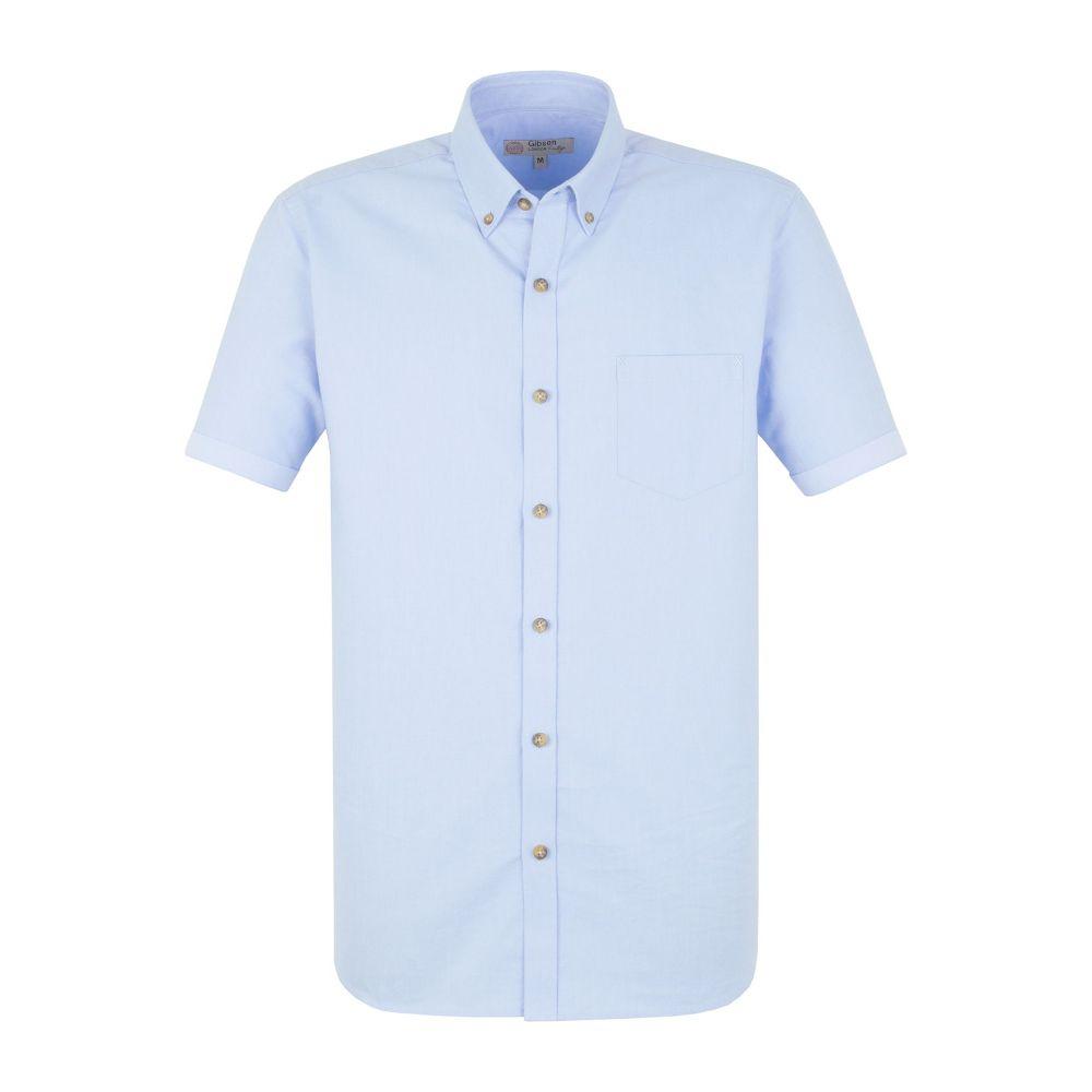 ギブソン Gibson メンズ トップス シャツ【Plain White Oxford Shirt】light blue