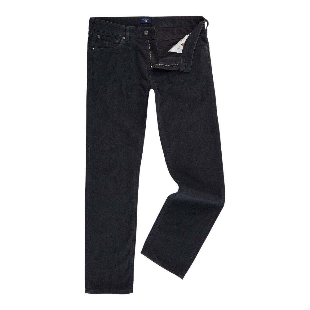 ガント GANT メンズ ボトムス・パンツ【Soft-twill Regular-fit Trousers】charcoal marl