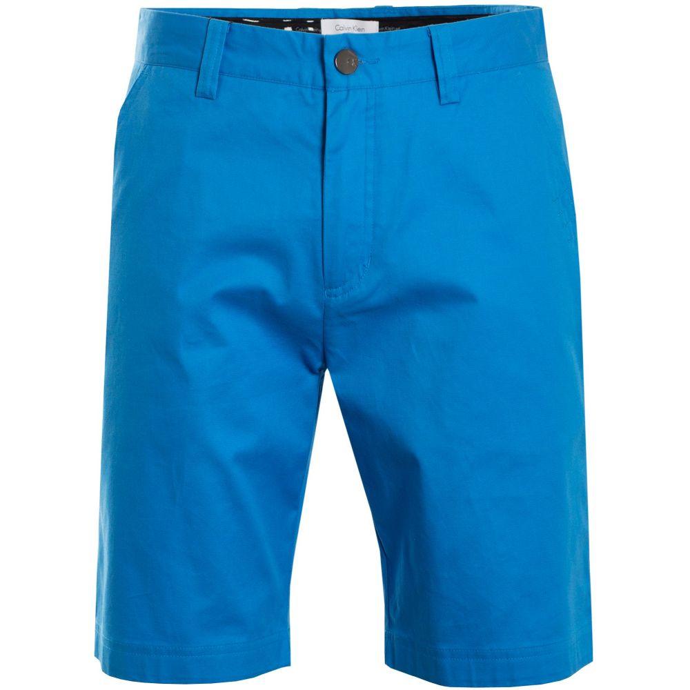 カルバンクライン Calvin Klein Golf メンズ ボトムス・パンツ ショートパンツ【Cotton Stretch Chino Short】azure