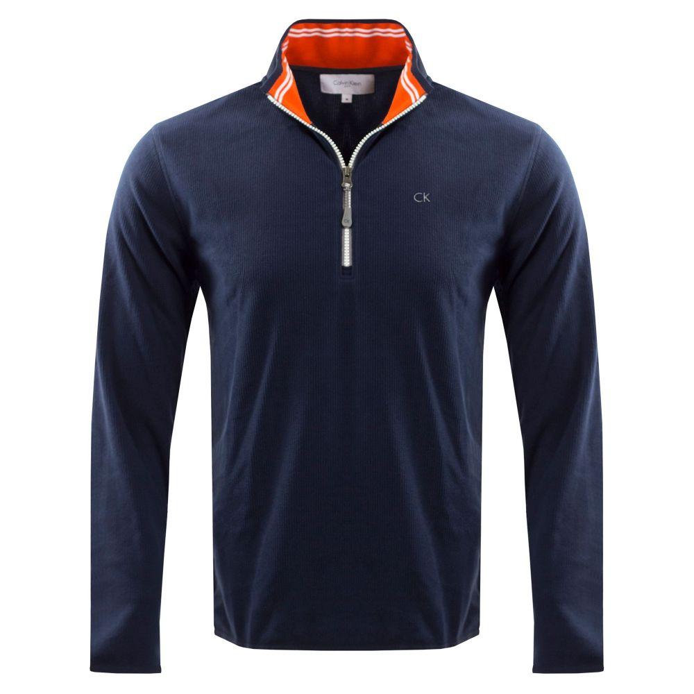 カルバンクライン Calvin Klein Golf メンズ トップス フリース【Field Fleece】navy