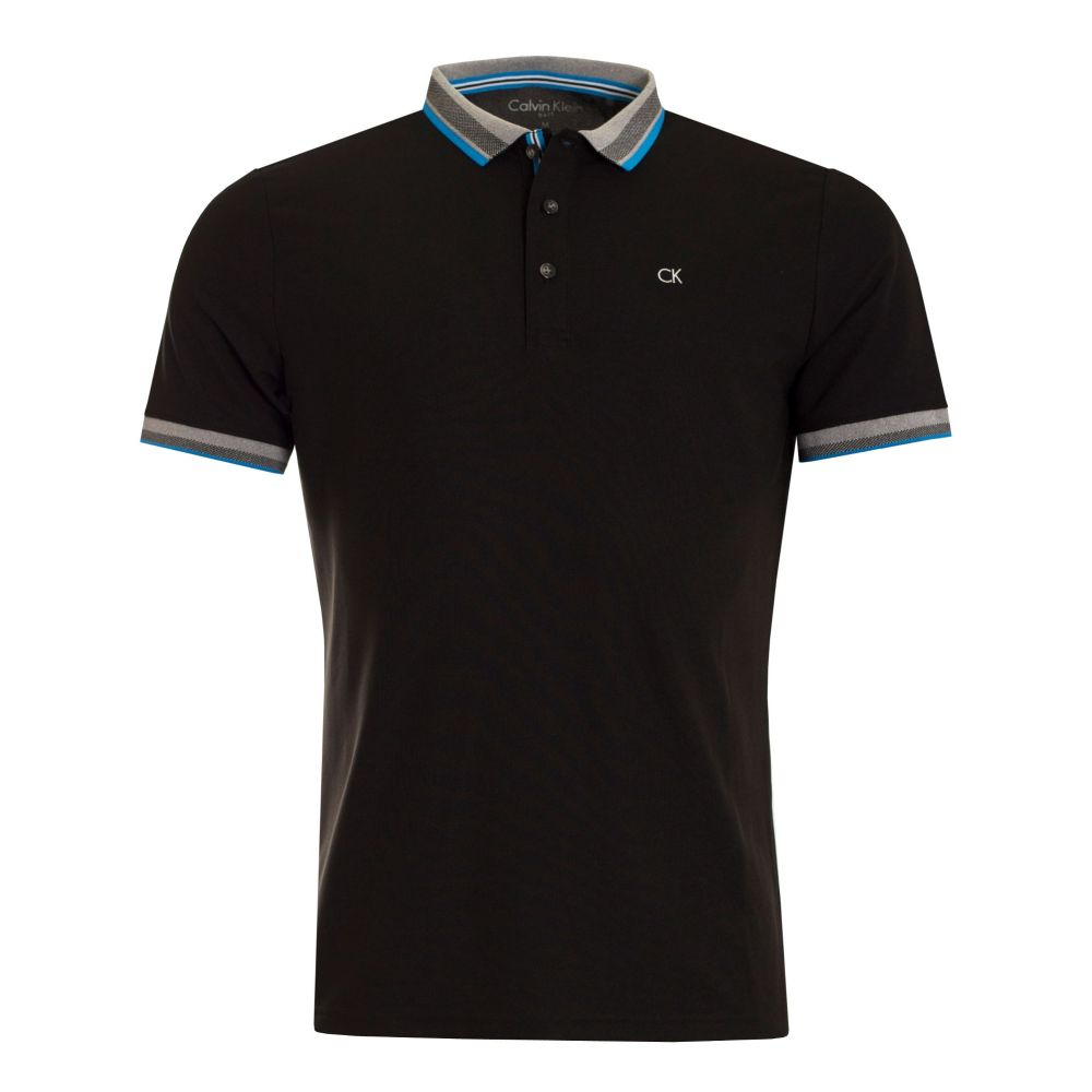 カルバンクライン Calvin Klein Golf メンズ トップス ポロシャツ【Spark Polo】black