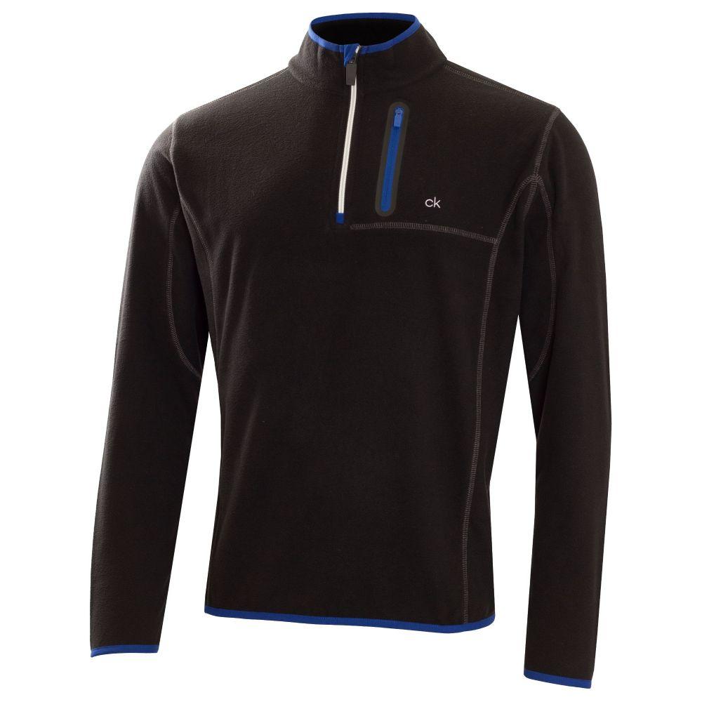 カルバンクライン Calvin Klein Golf メンズ トップス フリース【Swing Performance Fleece】black