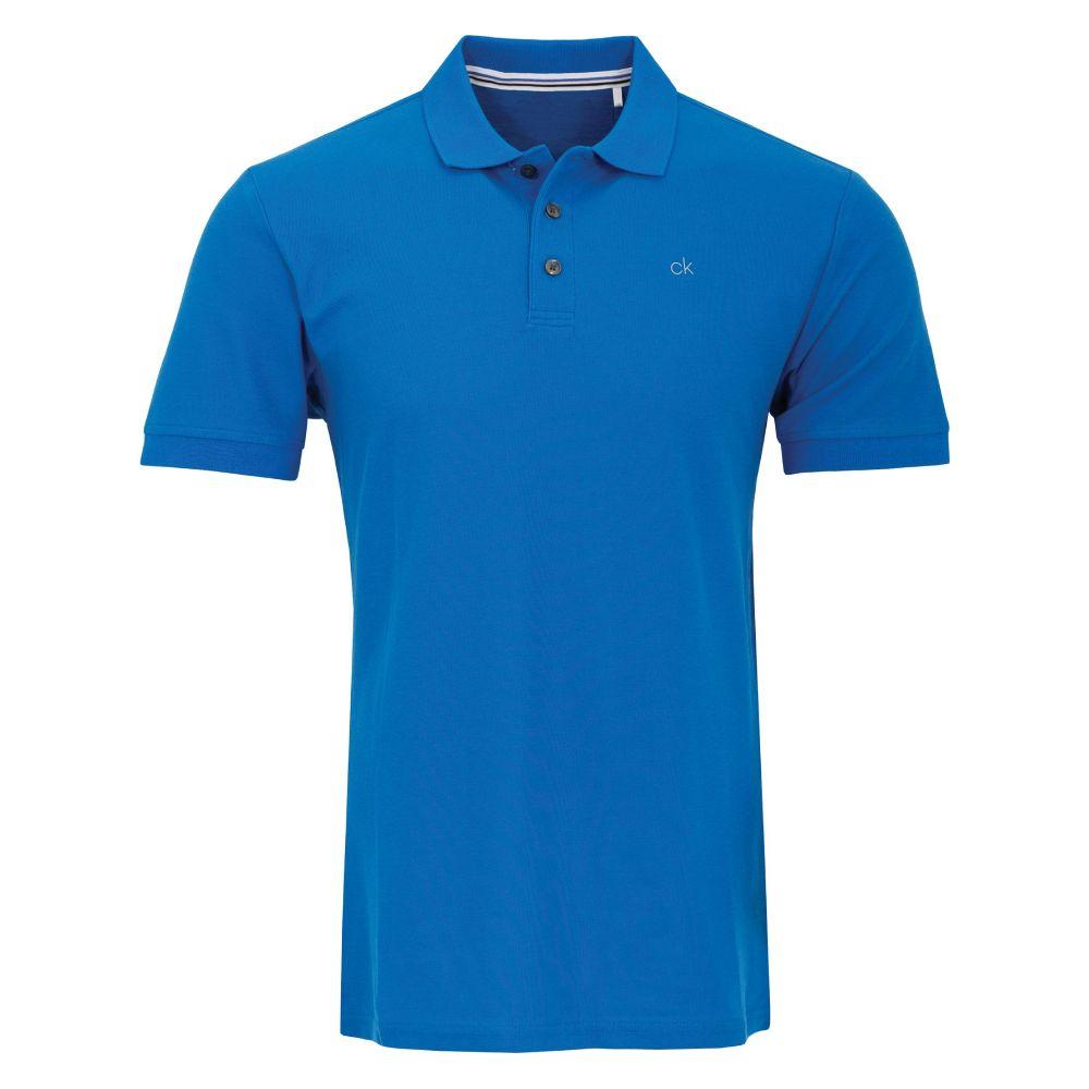 カルバンクライン Calvin Klein Golf メンズ トップス ポロシャツ【Ck Cotton Polo】blue