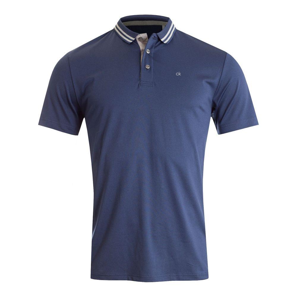 カルバンクライン Calvin Klein Golf メンズ トップス ポロシャツ【Madison Tech Polo】navy marl