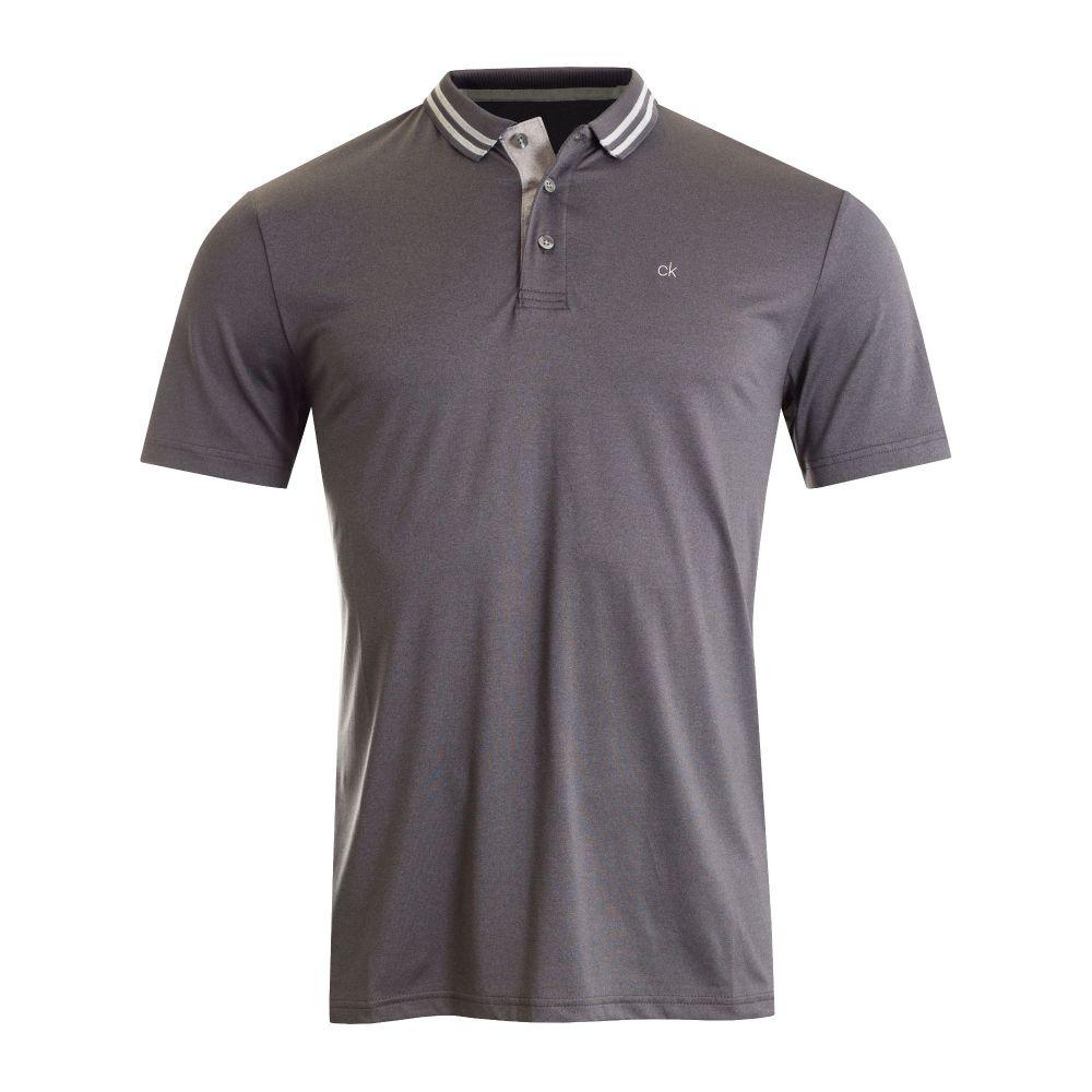 カルバンクライン Calvin Klein Golf メンズ トップス ポロシャツ【Madison Tech Polo】charcoal marl