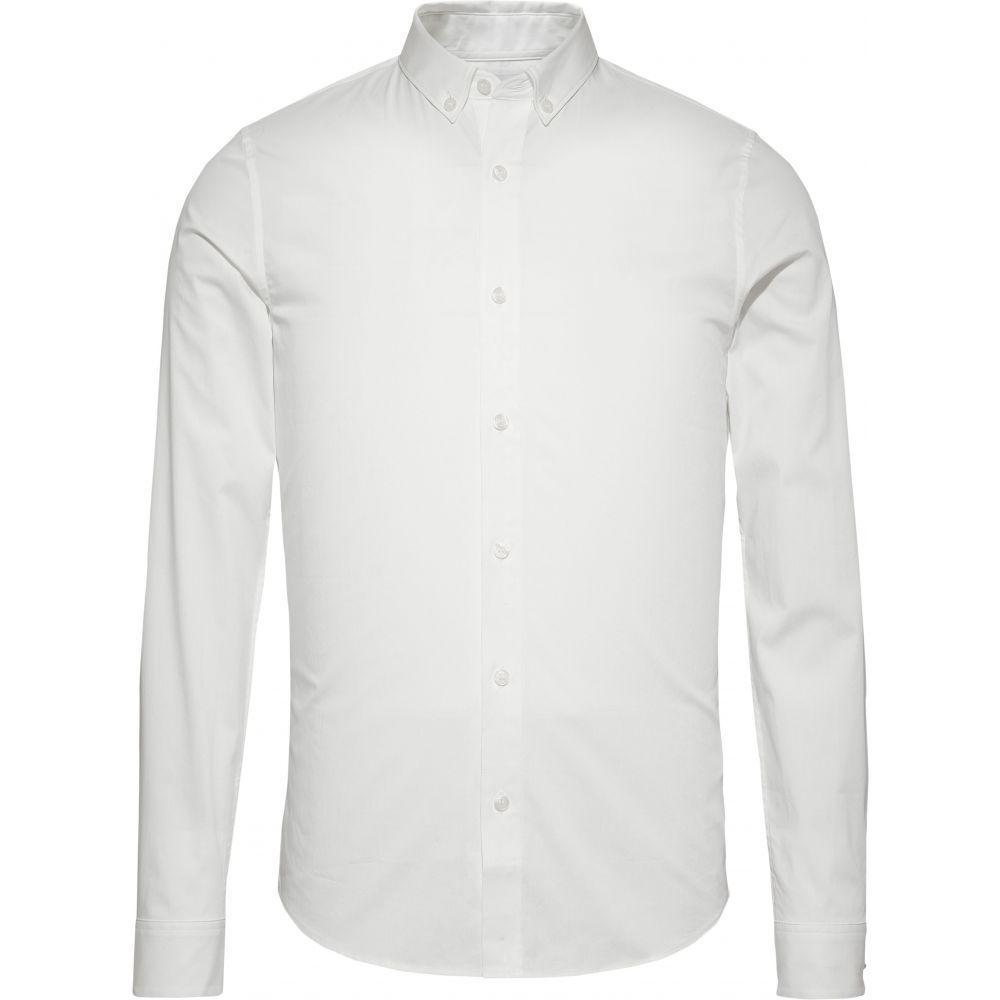 カルバンクライン Calvin Klein メンズ トップス シャツ【Ckjeans Logo Slim Fit Shirt】white