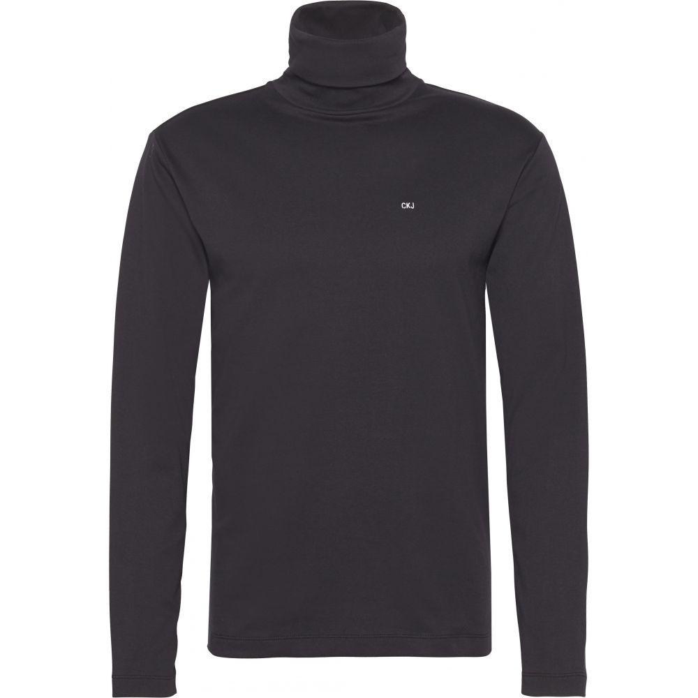 カルバンクライン Calvin Klein メンズ トップス Tシャツ【Ckjeans Logo Turtleneck Top】black