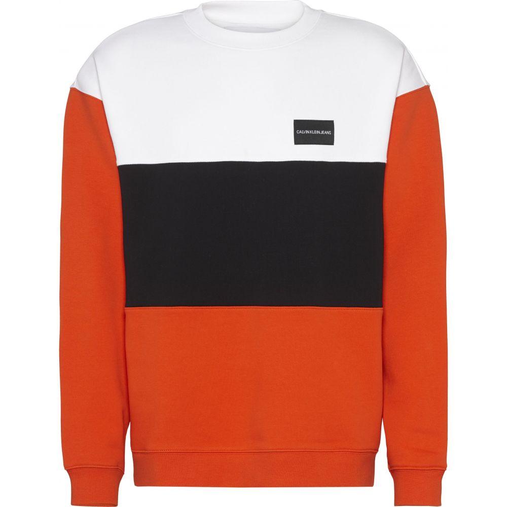 カルバンクライン Calvin Klein メンズ トップス スウェット・トレーナー【Ckjeans Colour Block Sweatshirt】multi-coloured