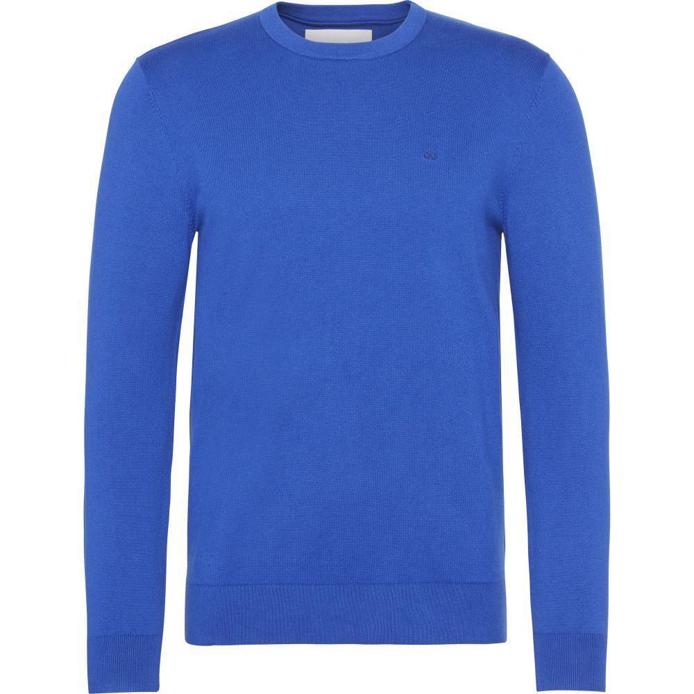 カルバンクライン Calvin Klein メンズ トップス スウェット・トレーナー【Ckjeans Chest Logo Sweater】sea blue