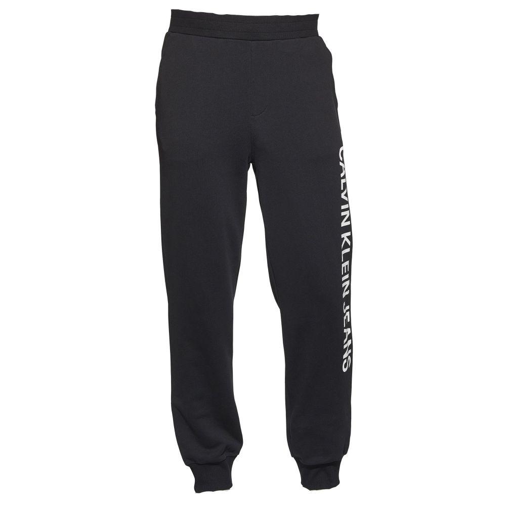 カルバンクライン Calvin Klein メンズ ボトムス・パンツ ジョガーパンツ【Ckjeans Side Logo Joggers】black
