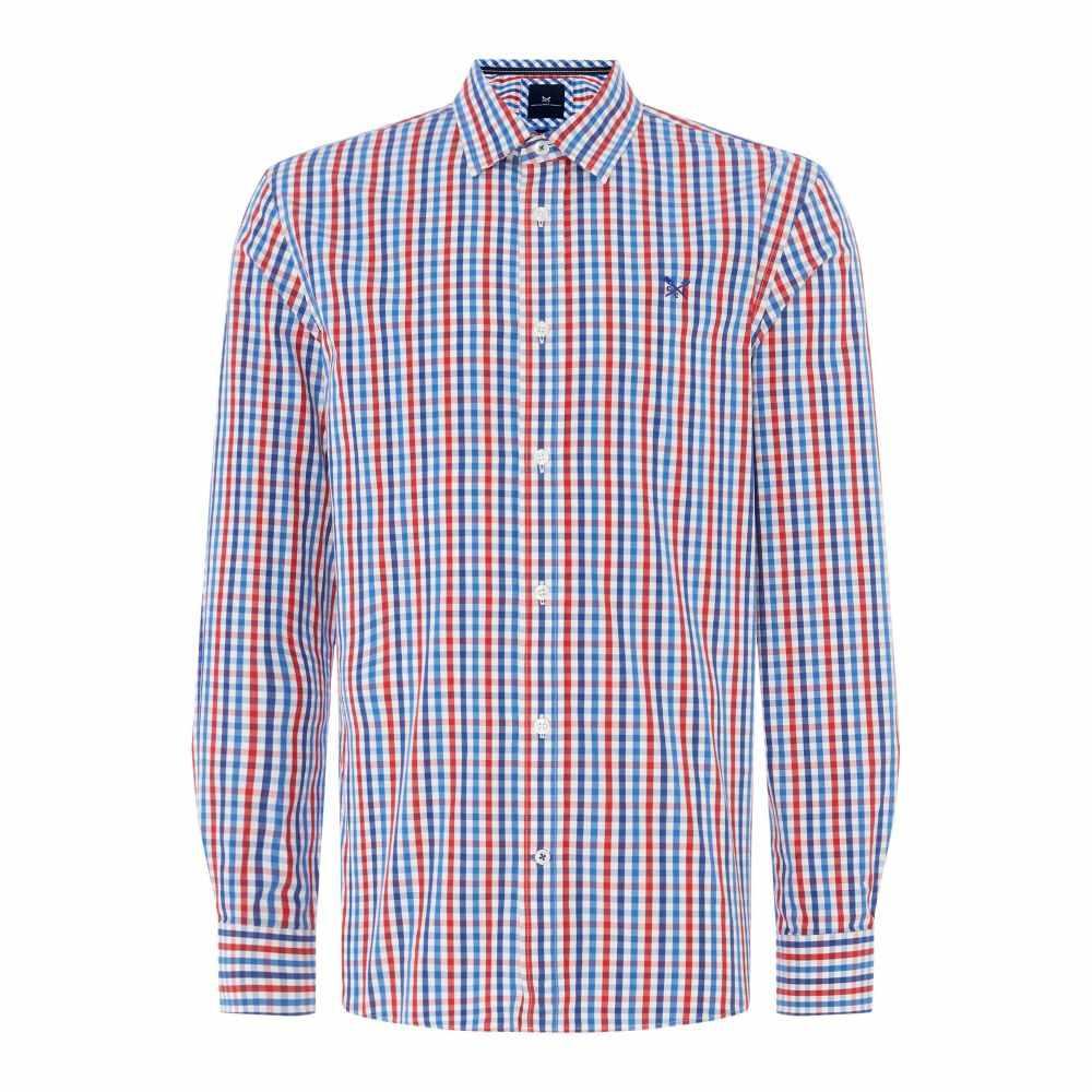 クルークロッシング Crew Clothing メンズ トップス シャツ【Company Gingham Shirt】multi-coloured
