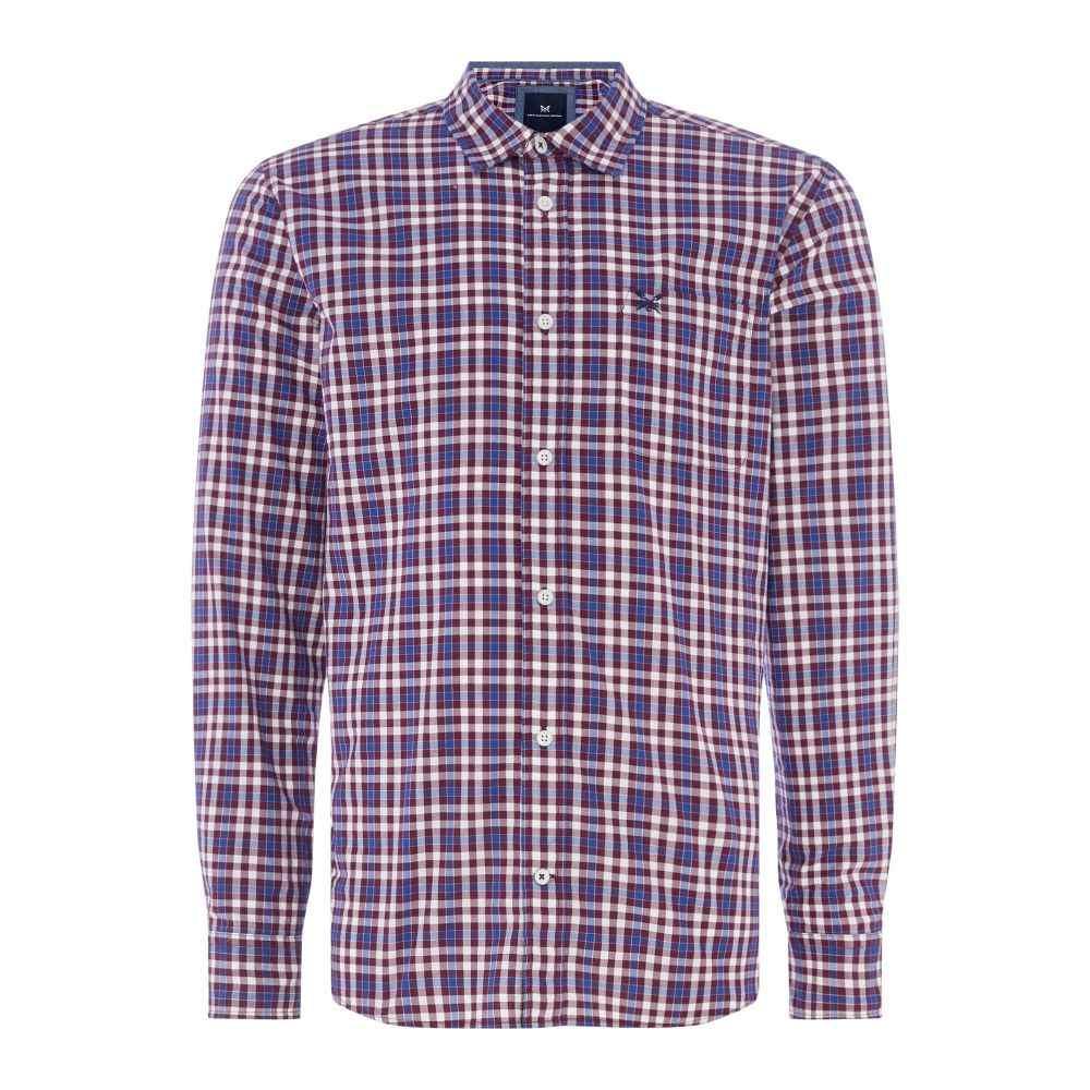 クルークロッシング Crew Clothing メンズ トップス シャツ【Company Westleigh Shirt】plum