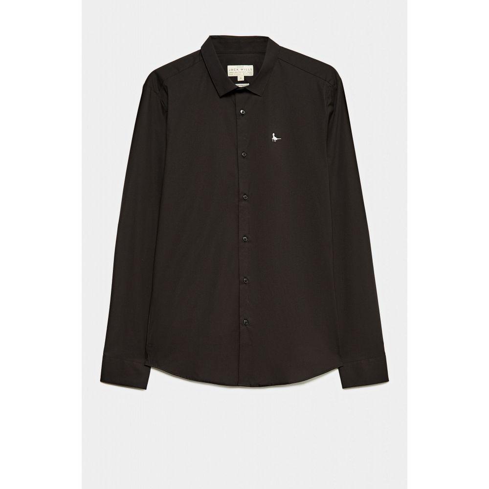 ジャック ウィルス Jack Wills メンズ トップス シャツ【Hinton Shirt】black