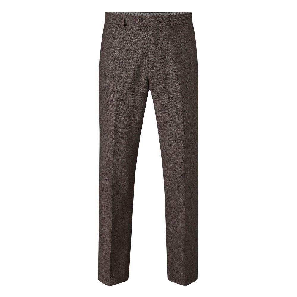 スコープス Skopes メンズ ボトムス・パンツ スラックス【Tommy Wool Blend Suit Trouser】brown