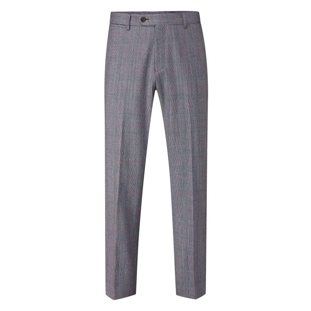 スコープス Skopes メンズ ボトムス・パンツ スラックス【Waldo Wool Check Suit Trouser】grey